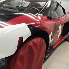 フルラッピング マクラーレン 東京 台東区 カーラッピング 650S スーパーカー