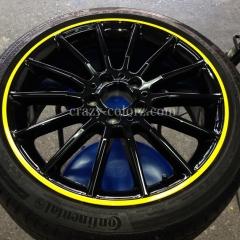 wheel wrapping benz CLA