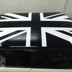 ミニクーパー R56 ステッカー ユニオンジャック デカール 東京 台東区