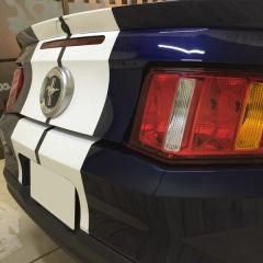 レーシングストライプ 東京 台東区 カーラッピング マスタング フォード