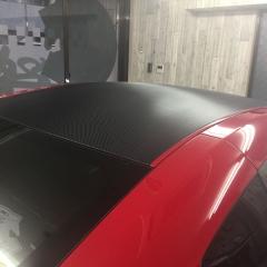 カーボンラッピング ルーフラッピング ステッカー シール 東京 GTR R35
