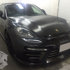 porsche panamera carwrapping coating crazycolorz