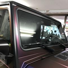 カーラッピング 東京 AMG ゲレンデ フルラッピング 東京 台東区 浅草