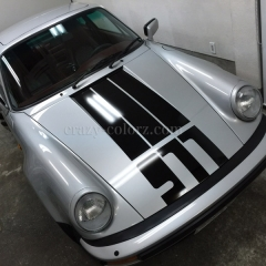porsche racing stripes