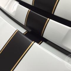 ポルシェ レーシングストライプ 東京 デカール ステッカー カーラッピング