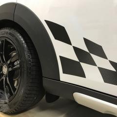 チェッカー カーボン ストライプ R60 クロスオーバー 東京