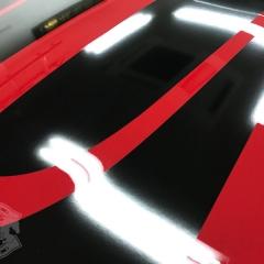 レーシングストライプ ミニ 貼り替え 純正 劣化 雨染み 色落ち 東京