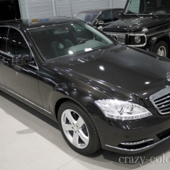 BENZ S-CLASS WRAPPING