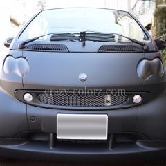 bez smart matte black car wrapping