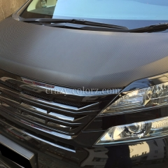 toyota vellfire carbon wrapping
