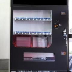 自動販売機ラッピングマットブラック