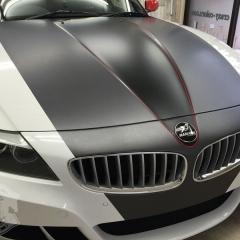 マットブラック カーラッピング 東京 Z4 BMW