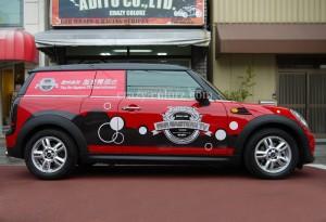 BMW MINI クラブバンスタイルカーラッピング