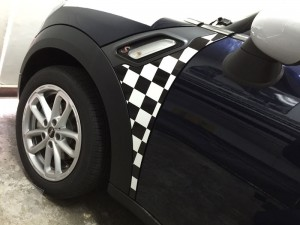 mini r60 carwrapping