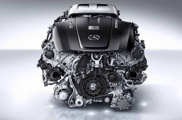 AMG GT ENGINE