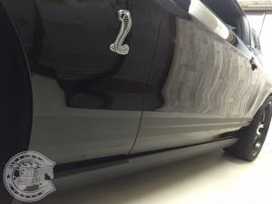 レーシングストライプ レーシングライン カーラッピング 東京 台東区 アメ車