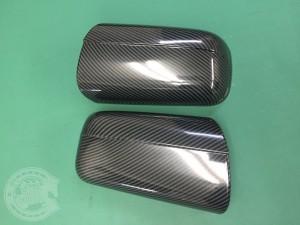 W140 ベンツ Sクラス ミラー カーボン ラッピング