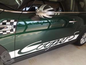 ミニクーパー サイドストライプ カーラッピング デカール ステッカー