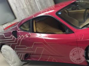 フェラーリ F430 カーラッピング フルラッピング