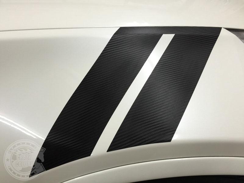 z34 カーラッピング カーボン 東京 ステッカー ストライプ